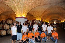 MotoGP riders visit San Marino