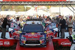 Podium: third place Daniel Sordo and Marc Marti
