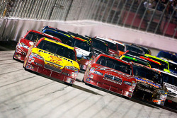 Kevin Harvick, Richard Childress Racing Chevrolet leads the pack