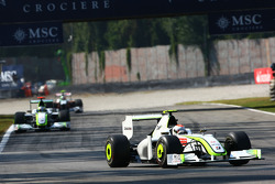 Rubens Barrichello, BrawnGP and Jenson Button, BrawnGP