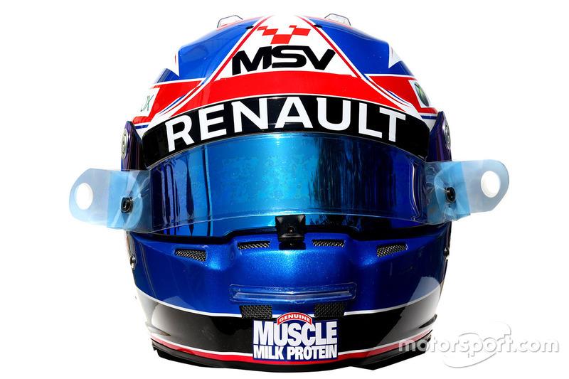 Diaporama - Les casques des 22 pilotes de la saison 2016 ... Felipe Nasr