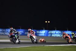 Jorge Lorenzo, Movistar Yamaha MotoGP, Yamaha and Andrea Dovizioso, Ducati Team, Ducati