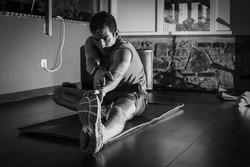 Training Nicholas Latifi