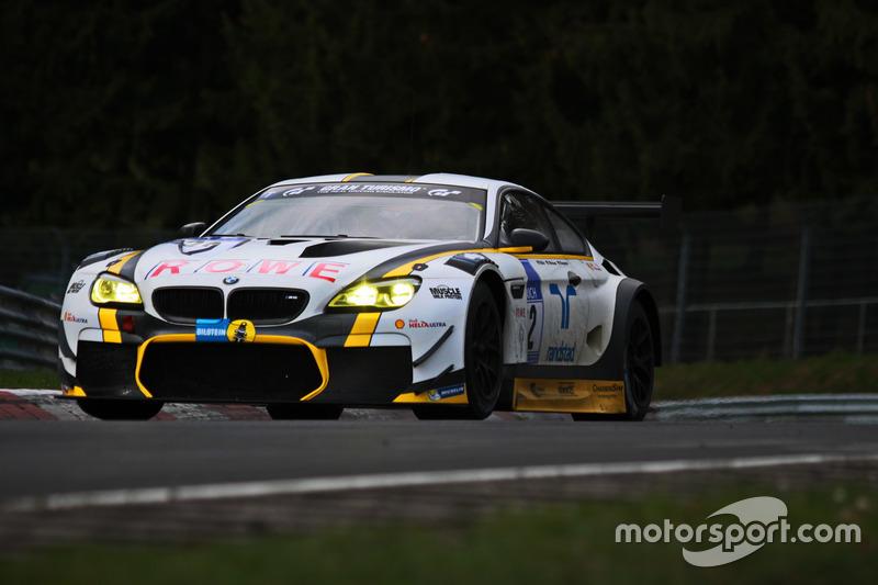 #22 ROWE Racing, BMW M6 GT3