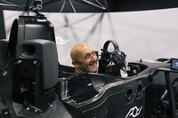 WEC Foto - Fabien Barthez in the simulator