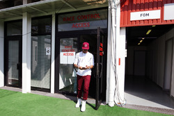 Lewis Hamilton, Mercedes AMG F1 leaves the Stewards' Office