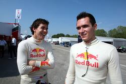 Robert Wickens and Mikhail Aleshin