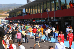 Fan pitwalk