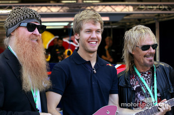 Sebastian Vettel, Red Bull Racing and ZZ Top