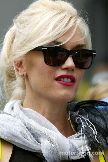 Gwen Stefani, singer of No Doubts