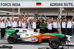 Force India F1 Team and Black Eyed Peas
