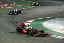 Lewis Hamilton, McLaren Mercedes and Nico Rosberg, Williams F1 Team