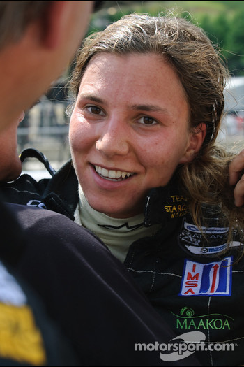 Second place Simona De Silvestro