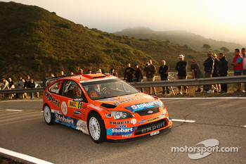 Henning Solberg and Cato Menkerud, Stobart VK M-Sport Ford Rally Team Ford Focus RS WRC 08