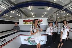 LCR Honda MotoGP pitbox