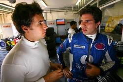 Enrique Bernoldi and Roberto Streit