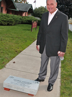 George Follmer is inducted into the Watkins Glen Walk of Fame at the International Motor Racing Research Center