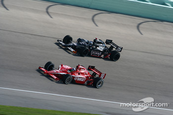 Dario Franchitti, Chip Ganassi Racing, Marco Andretti, Andretti Green Racing