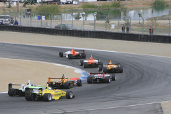 Start: John Edwards, Newman Wachs Racing leads the field