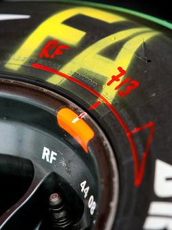 Renault F1 Team tyre
