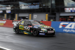 Andrew Anderson on pit straight