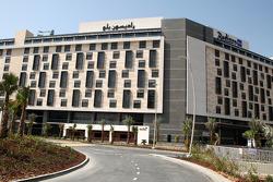 The New Abu Dhabi Yas Marina Circuit, new hotels built by the circuit, the Radisson blu