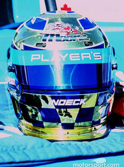 Helmet of Greg Moore