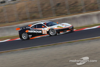#89 Hankook - Team Farnbacher Ferrari F430 GT: Dominik Farnbacher, Allan Simonsen
