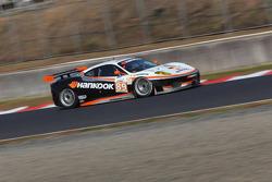 #89 Hankook - Team Farnbacher Ferrari F430 GT: Dominik Farnbacher, Allan Simonsen