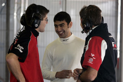 Armaan Ebrahim talks with F2 Engineers
