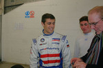 Brett Smzr, Connor de Phillippi and Derek Daly share a joke