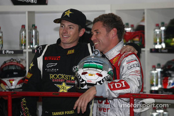 Tanner Foust and Tom Kristensen