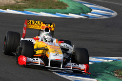 Lucas di Grassi Tests for the Renault F1 Team