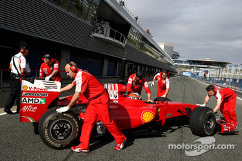 Daniel Zampieri, Tests for Scuderia Ferrari
