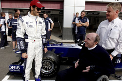 Sheikh Khalid bin Hamad Al-Thani Williams F1 test drive