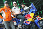 KTM: Marc Coma, Cyril Despres and Martin Freinademetz