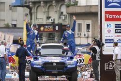 #300 Volkswagen: Giniel De Villiers and Dirk Von Zitzewitz