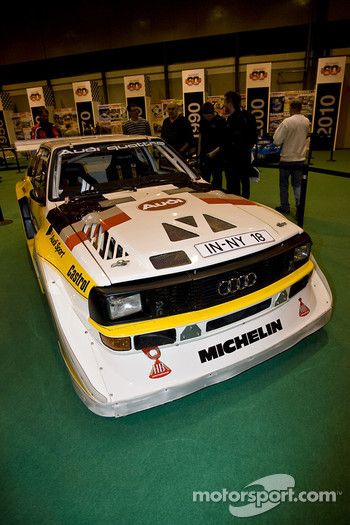 Audi group B rally car