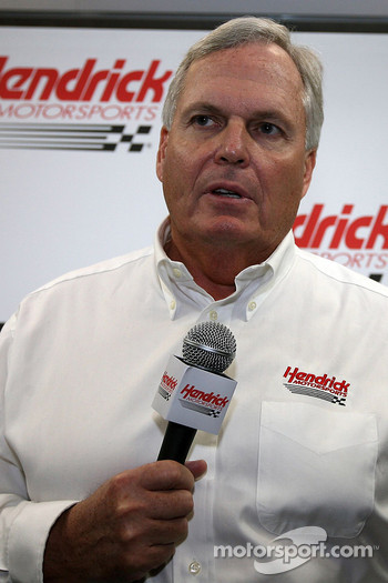 Team owner Rick Hendrick