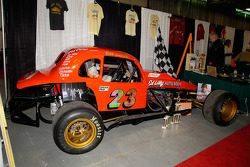 Ed Lilly raced this 1936 Plymouth at Dorney Park Speedway from 1971 through 1982, winning the championship in 1980