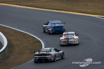 #32 Corsa Team PR1 BMW M6: Rob Finlay, Max Hyatt, Thomas Merrill, Jeff Westphal, #20 Matt Connolly Motorsports Porsche GT3: Christophe Lapierre, Jos Menten, Markus Palttala, Oskar Slingerland, #52 Wil Mar Racing Ferrari 430 Challenge: Filippo Marchino, Bo