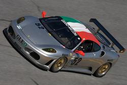 #52 Wil Mar Racing Ferrari 430 Challenge: Filippo Marchino, Bob Michaelian, Jim Michaelian, Joseph Safina, Jay Wilton