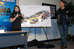 JR Motorsports press conference: Danica Patrick presents the 'Danicar'