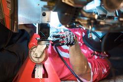 Earnhardt Ganassi Racing Chevrolet team member at work