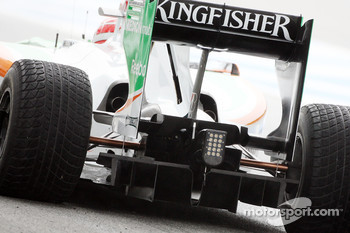 Vitantonio Liuzzi, Test Driver, Force India F1 Team, VJM-03, detail
