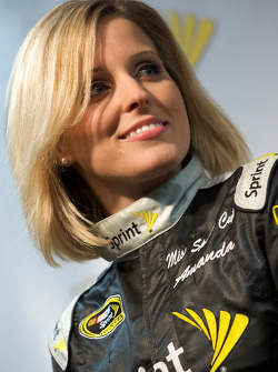 Miss Sprint Cup press conference: Amanda Wright