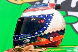 Helmet of Danica Patrick