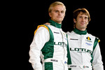 Heikki Kovalainen and Jarno Trulli