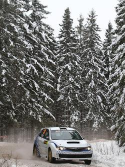 Gianluca Linari and Paolo Gregoriani, Subaru Impreza STI