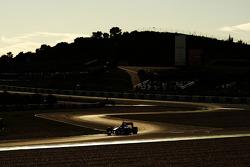 Jenson Button, McLaren Mercedes, The sun sets over testing